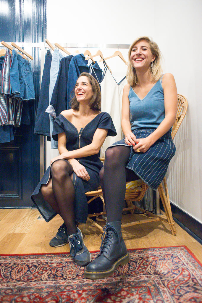 FJ twins denim clothing for women brussels fashion brand FAÇON JACMIN