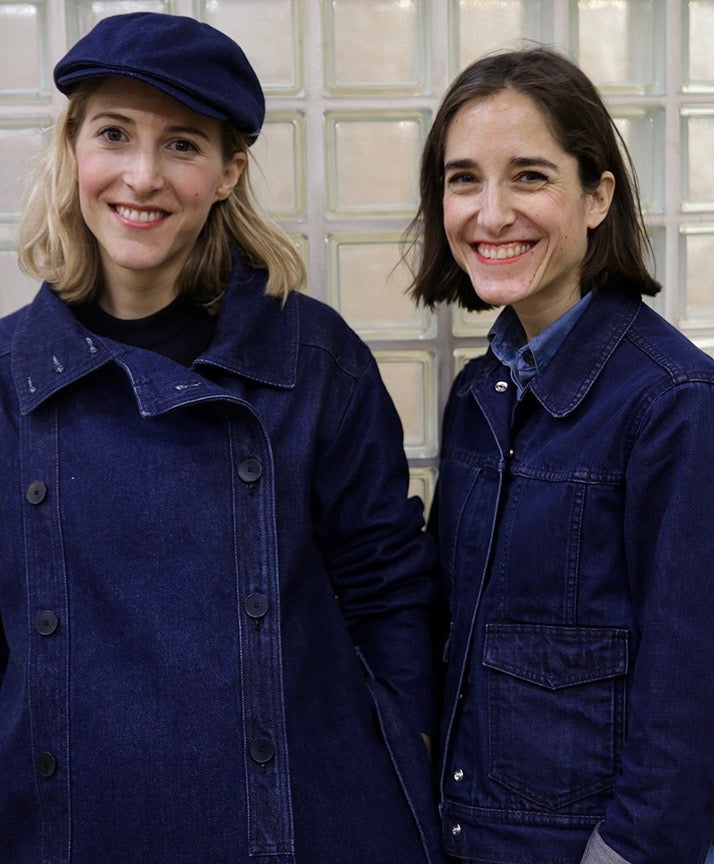 JACMIN twin sisters designers and creators denim fashion brand for women FAÇON JACMIN