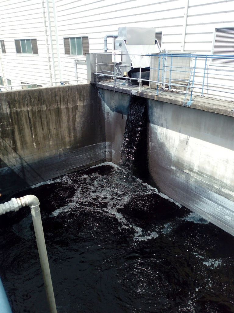 water purification process japanese denim factory FAÇON JACMIN