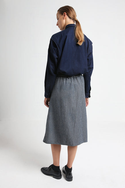 JOY reversible japanese denim skirt