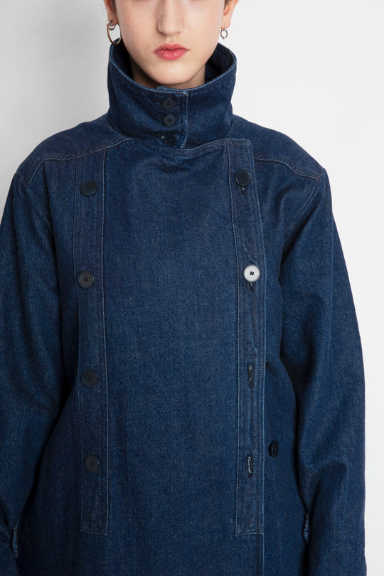 MELVIN Japanese denim fabric jacket outfit
