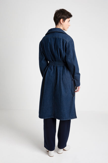 MELVIN japan blue jeans trench coat