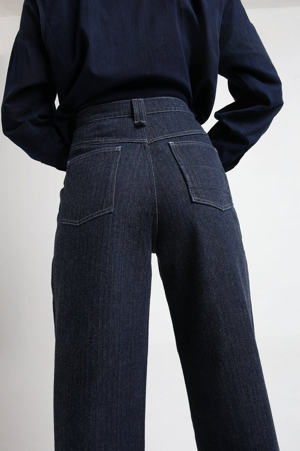 PAXTON dark blue denim pants