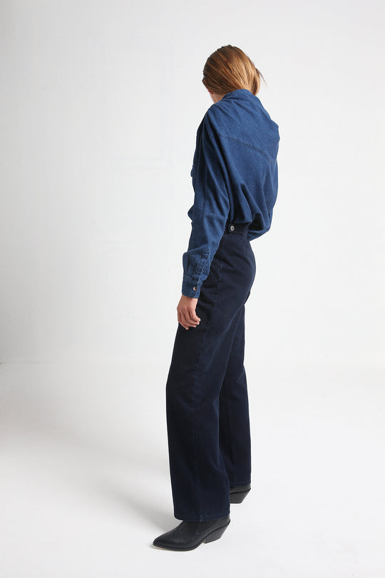 PRESLEY pants made from japenese denim