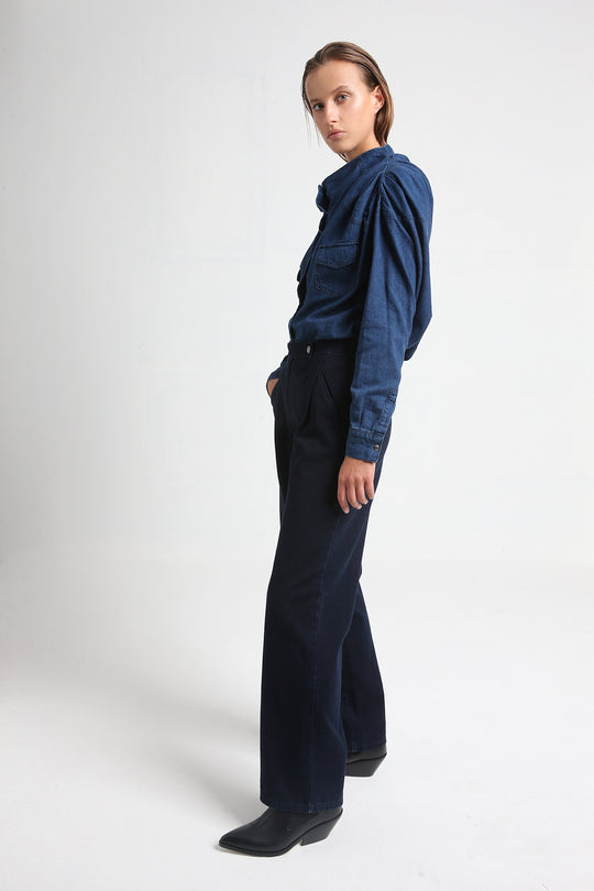 PRESLEY denim pants in dark blue