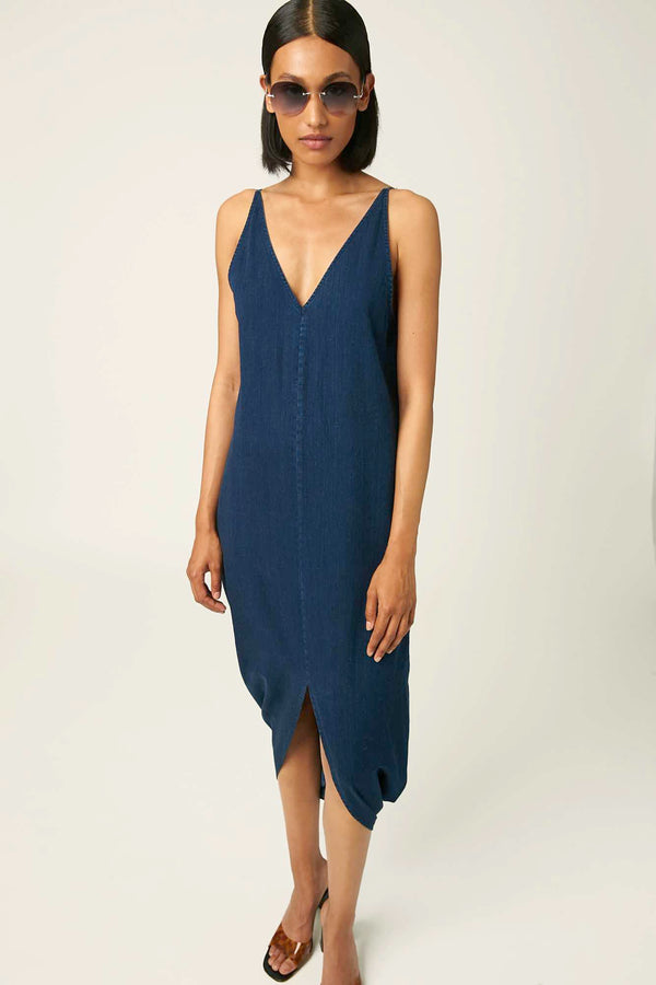 Riose dark blue dress