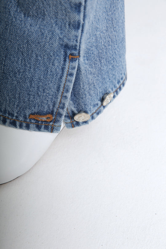 POLA light blue jeans 100% Japanese denim for women FAÇON JACMIN