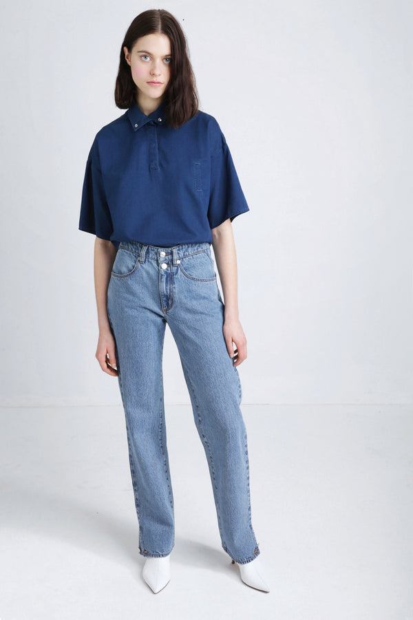 POLA light blue jeans spring summer women's collection