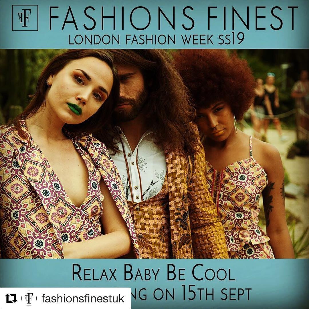 relax baby be cool x Cuenca & Co. at LONDON FASHION WEEK