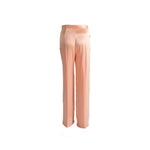 Load image into Gallery viewer, Long Silk Trousers with Pockets Pink