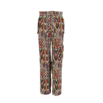Load image into Gallery viewer, Multicolor Long Trousers with Pockets White