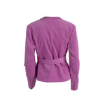 Load image into Gallery viewer, Ribbed Corduroy Blazer With Pockets Pink