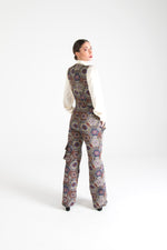 Load image into Gallery viewer, Multicolor Long Dungarees with Pockets