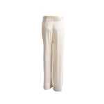 Load image into Gallery viewer, Long Silk Trousers with Pockets White