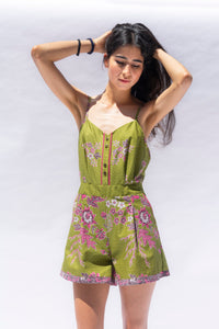Open Back Jumpsuit Buketan