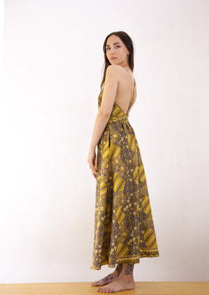 Sekar Jagad Open Back Maxi Dress SOLD OUT! SOLD OUT