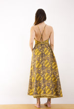 Load image into Gallery viewer, Sekar Jagad Open Back Maxi Dress