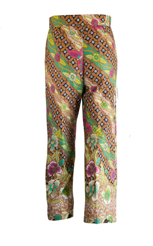 Pacitan Cropped Trousers