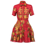 Load image into Gallery viewer, Alasalasan Short Sleeve Tea Dress SOLD OUT