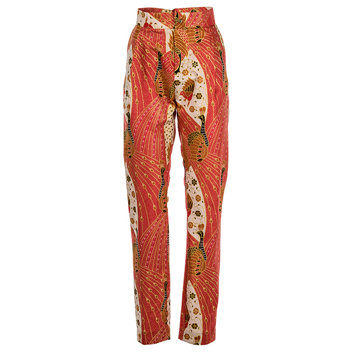 Peranakan Cigarette Trousers