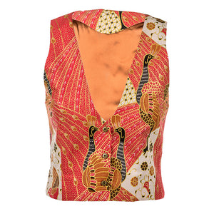 Peranakan Smoking Vest SOLD OUT