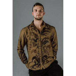 Sudagaran Long Sleeve Button Up Shirt