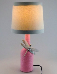 Simply Adorable Pink Plush Lamp