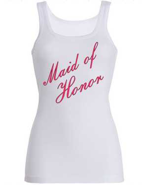 Maid of Honor Tank Tops