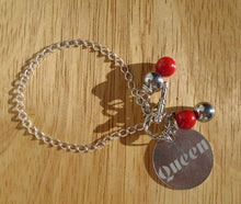 Engraved Personalized Charm Bracelet