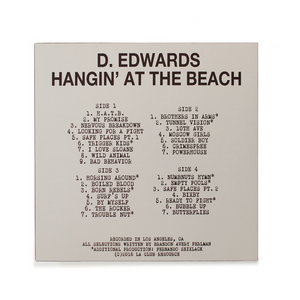 [LACR020] DELROY EDWARDS - HANGIN' AT THE BEACH (2XLP)