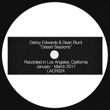 "[LACR024] DELROY EDWARDS & DEAN BLUNT - ""DESERT SESSIONS"" LP"