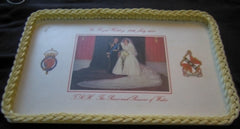 Charles & Diana Royal Wedding Melamine tray