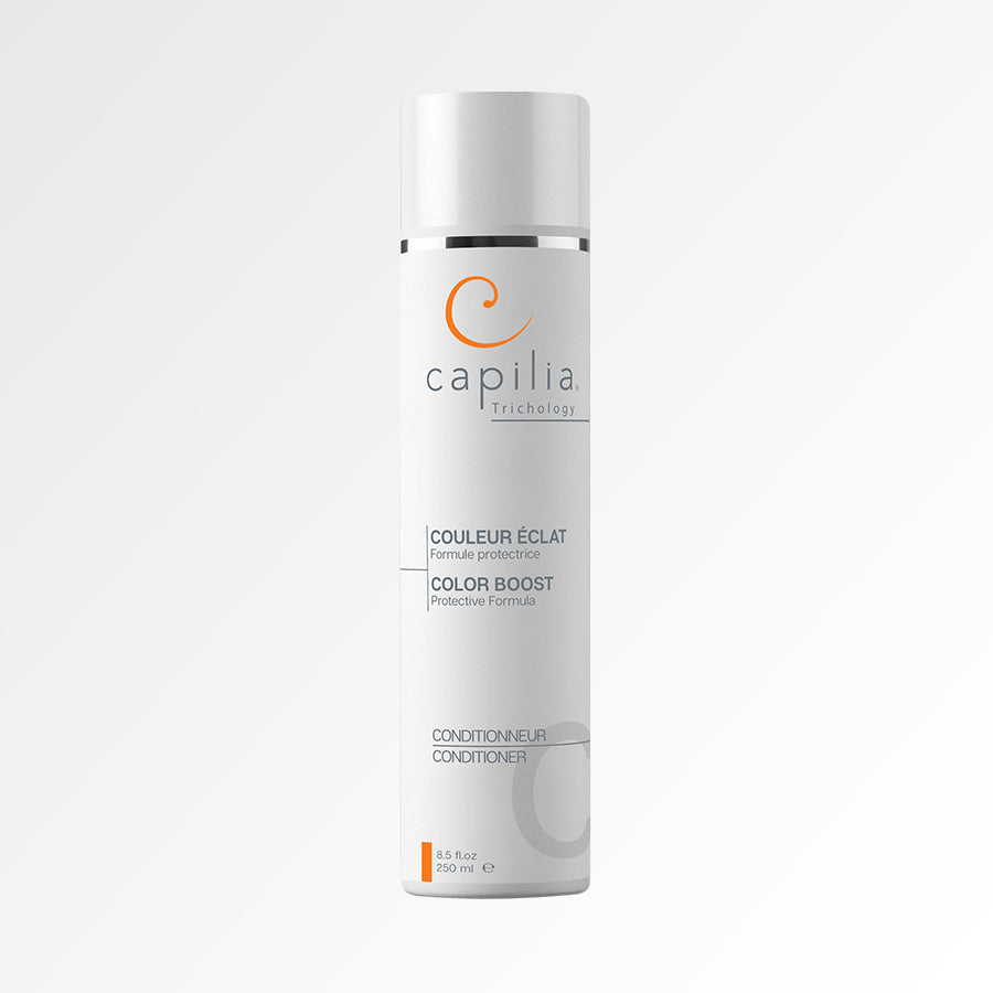 Load image into Gallery viewer, Capilia Trichology Color Boost conditioner For colored or bleached hair| Contionneur Couleur Éclat pour cheveux colorés ou décolorés.