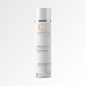 Capilia Trichology Color Boost conditioner For colored or bleached hair| Contionneur Couleur Éclat pour cheveux colorés ou décolorés.