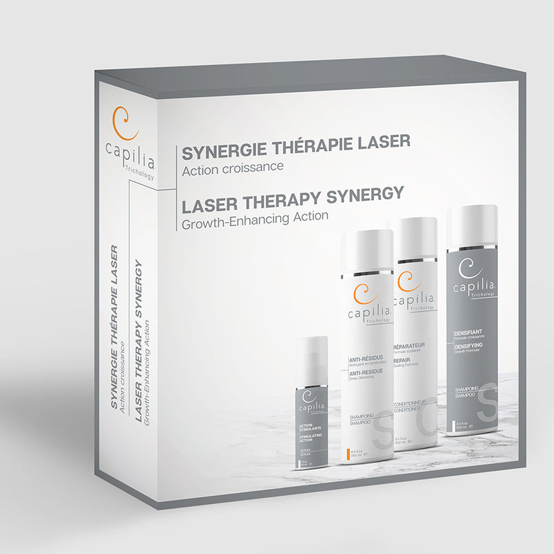 Capilia Trichology | Laser Therapy Synergy kit | Trousse Synergie thérapie laser