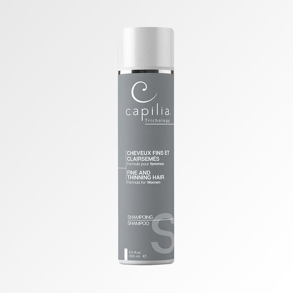 Capilia Trichology | Fine and Thinning Hair Shampoo | Shampoing Cheveux fins et clairsemés 250ml