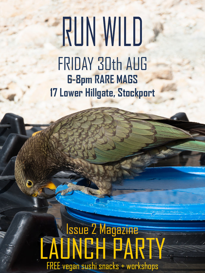 30/08/19 - Run Wild Issue 2 Launch Party