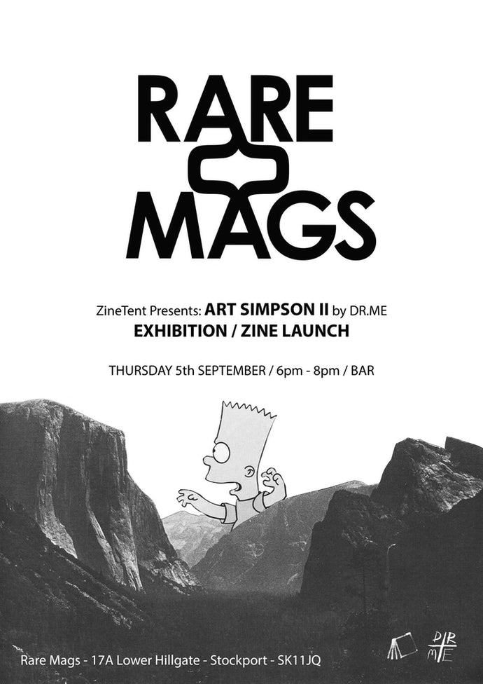 05/09/19 - Art Simpson II Zine - Launch Party