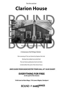 26/07/2018 - Bound x Rare Mags Presents A Celebration of the First and Last Clarion House