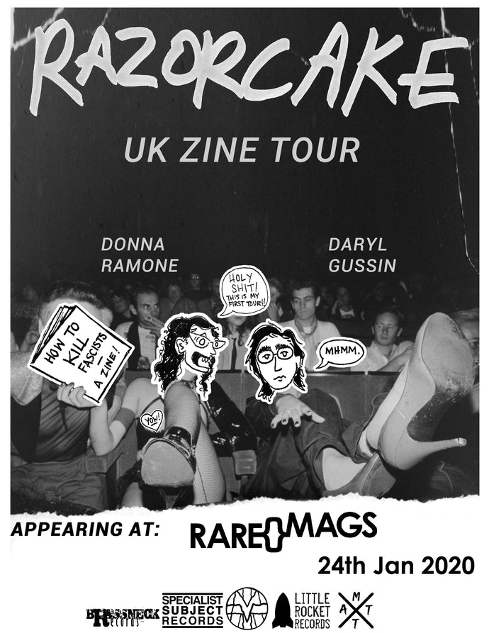 24/01/20 - Razorcake UK Zine Tour