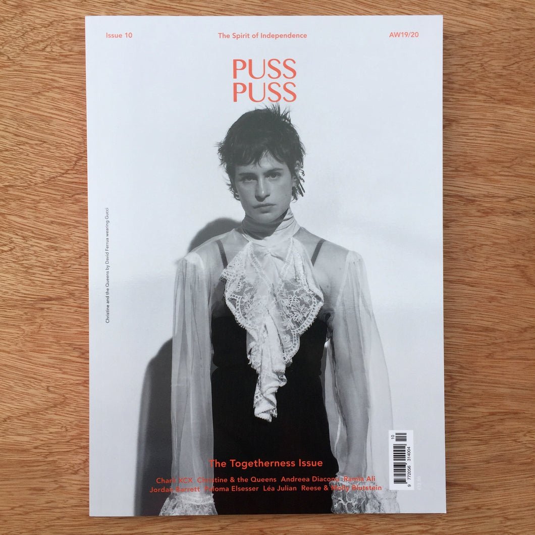 Puss Puss Issue 10 - Christine And The Queens Cover