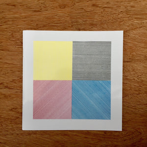 Sol LeWitt - Four Basic Kinds Of Lines & Colour