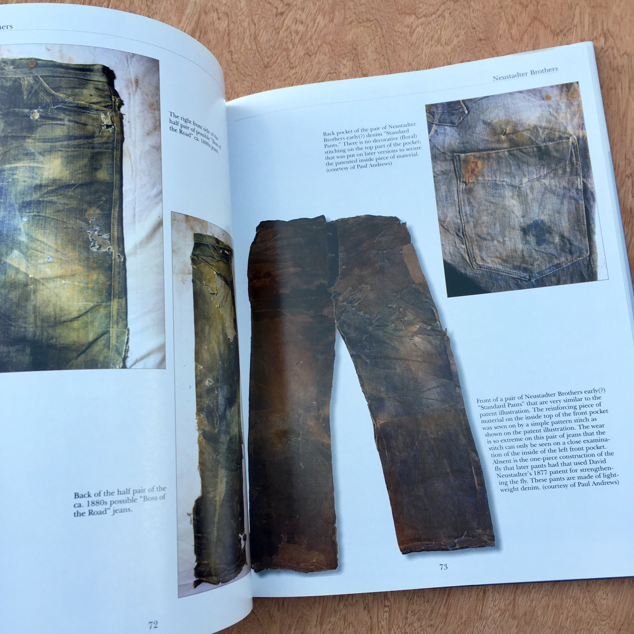 Jeans Of The Old West A History Rare Mags