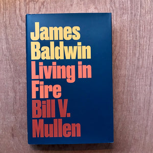 James Baldwin. Living in Fire