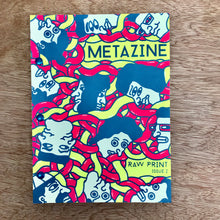Metazine Issue 2 Raw Print