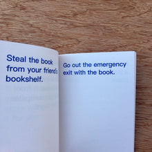How To Shoplift Books
