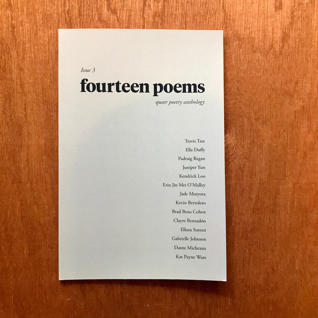 Fourteen Poems Issue 3
