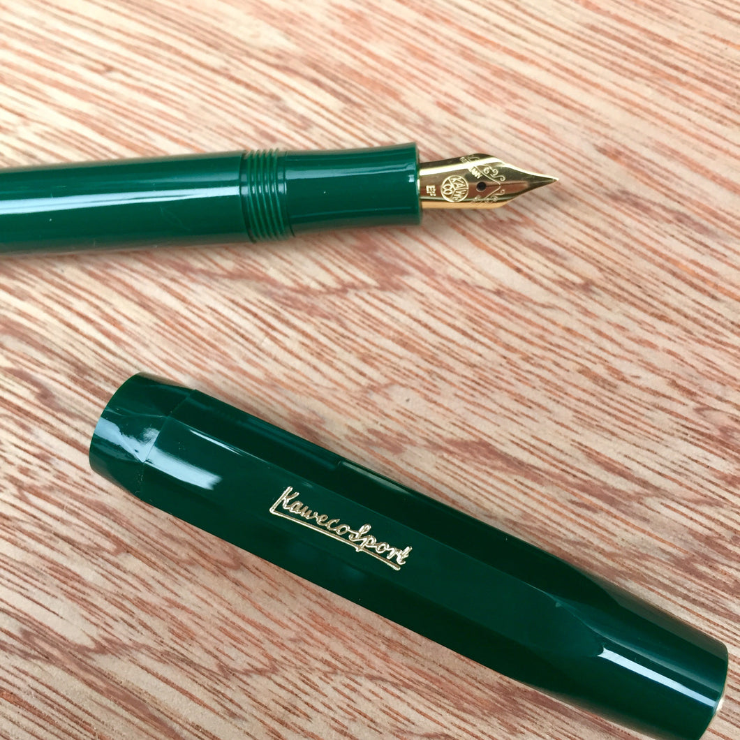 Kaweco Classic Sport Fountain Pen Green