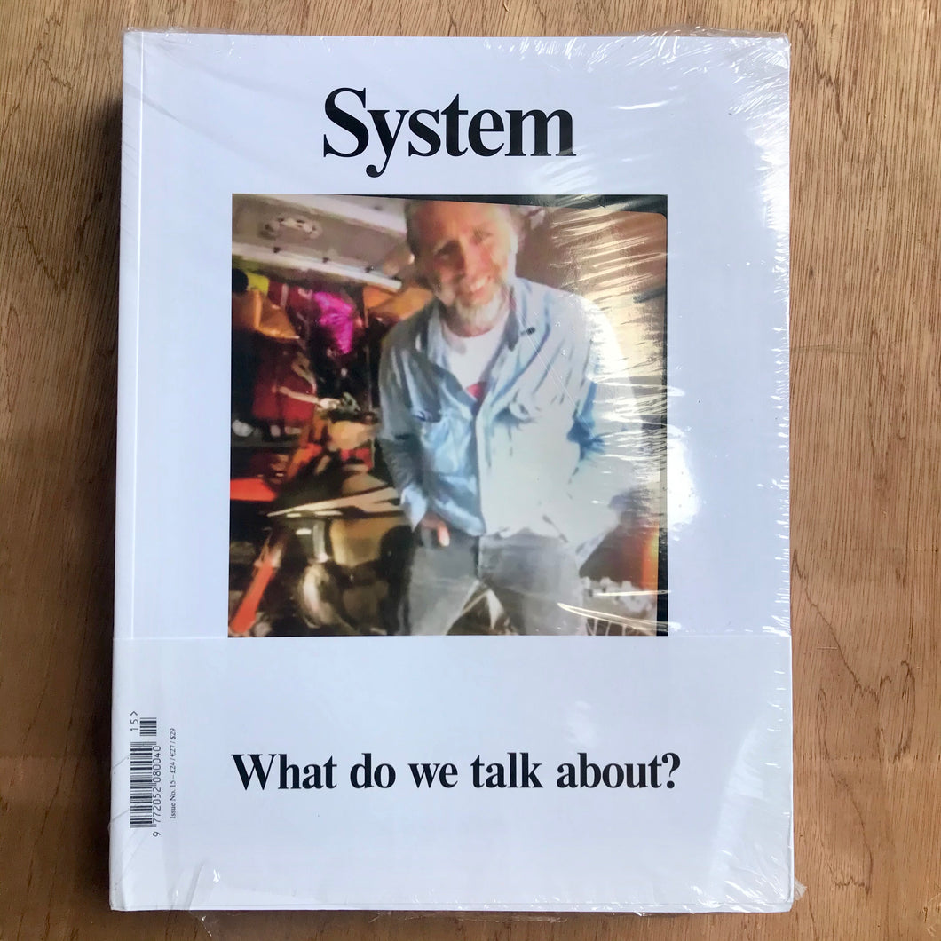 System Issue 15 (David Sims Cover)