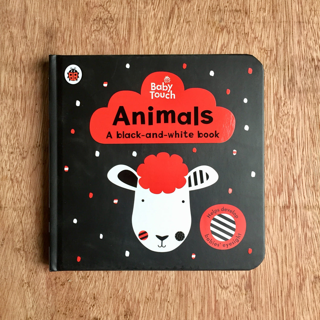 Baby Touch: Animals: a black-and white-book